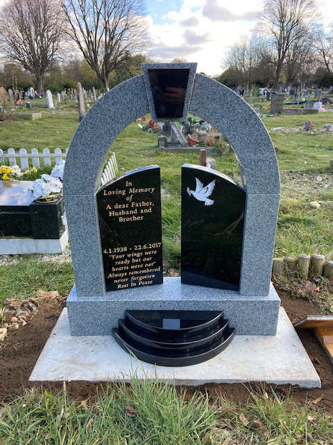 Granite Archway & Gates Memorial