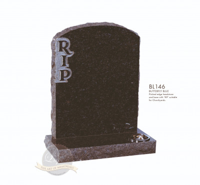 Shaped Chapter-Pitched RIP Memorial