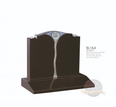 Cremation & Desk Chapter-Carved Rose Stem Memorial