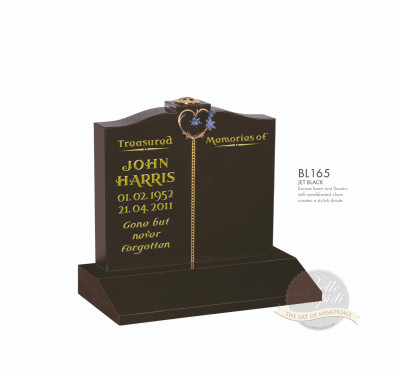 Cremation & Desk Chapter-Heart & Chain Memorial