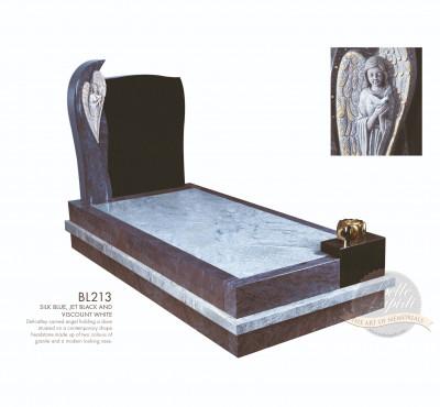Kerb Set Chapter-Angel & Dove Full Kerb Memorial