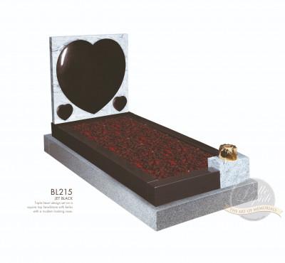 Kerb Set Chapter-Triple Heart Full Kerb Memorial