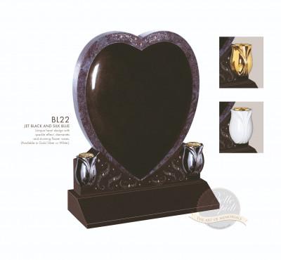 Heart Chapter-Padded Heart Memorial
