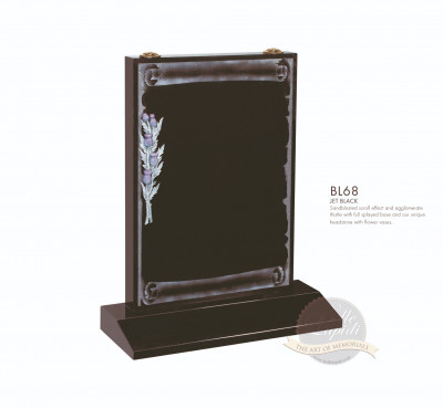 Book & Scroll Chapter-Scroll & Thistle Memorial