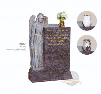Angel Chapter-Angel Holding Vase Memorial
