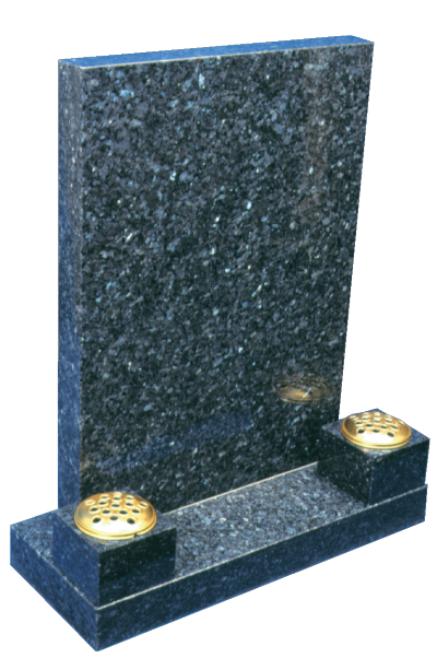 Granite Headstone - Square top design