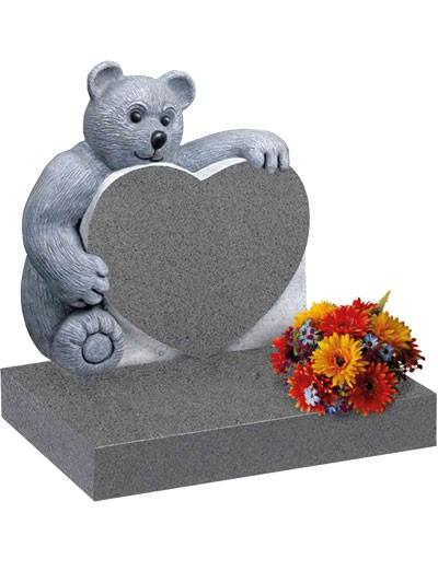 Children's Memorials - Mid Grey