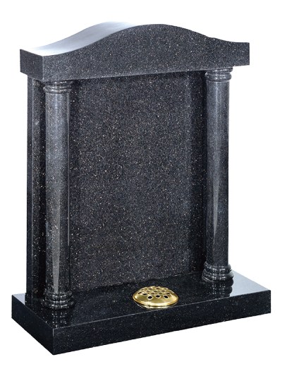 Granite Headstone - Canopy & column design