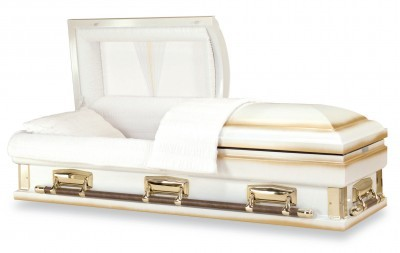 White Gold Casket