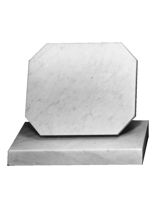 Buy Marble Cremation Memorial Tablet With Shaped Corners