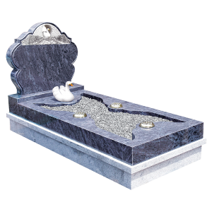 Exclusive Granite Kerb Surround - Memorial Range
