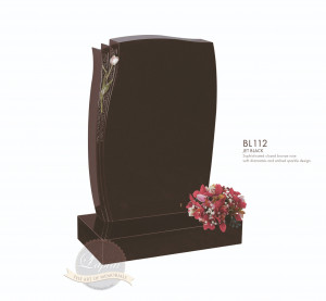 Floral Chapter-Closed Bronze Rose Memorial
