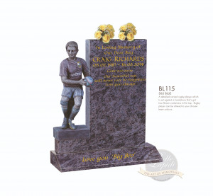 Decorative Chapter-Rugby Player Memorial