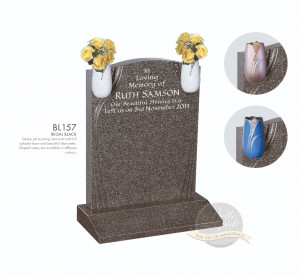 Shaped Chapter-Recessed Panel Memorial