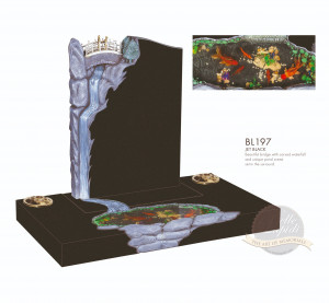 Surround Chapter-Waterfall & Pond Memorial