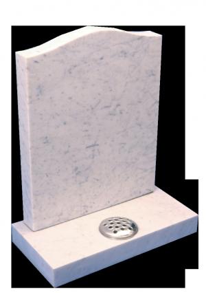 Marble Headstone - Standard ogee top