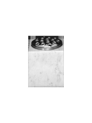 Plain marble vase