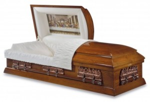 The Michelangelo Poplar Casket