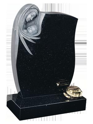 Granite Headstone - Beautifully deep carved memorial